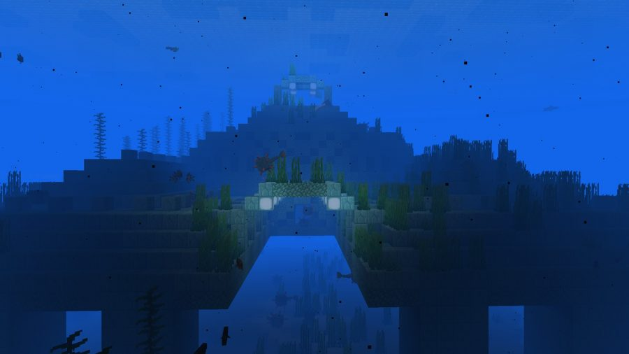 minecraft seeds water temple