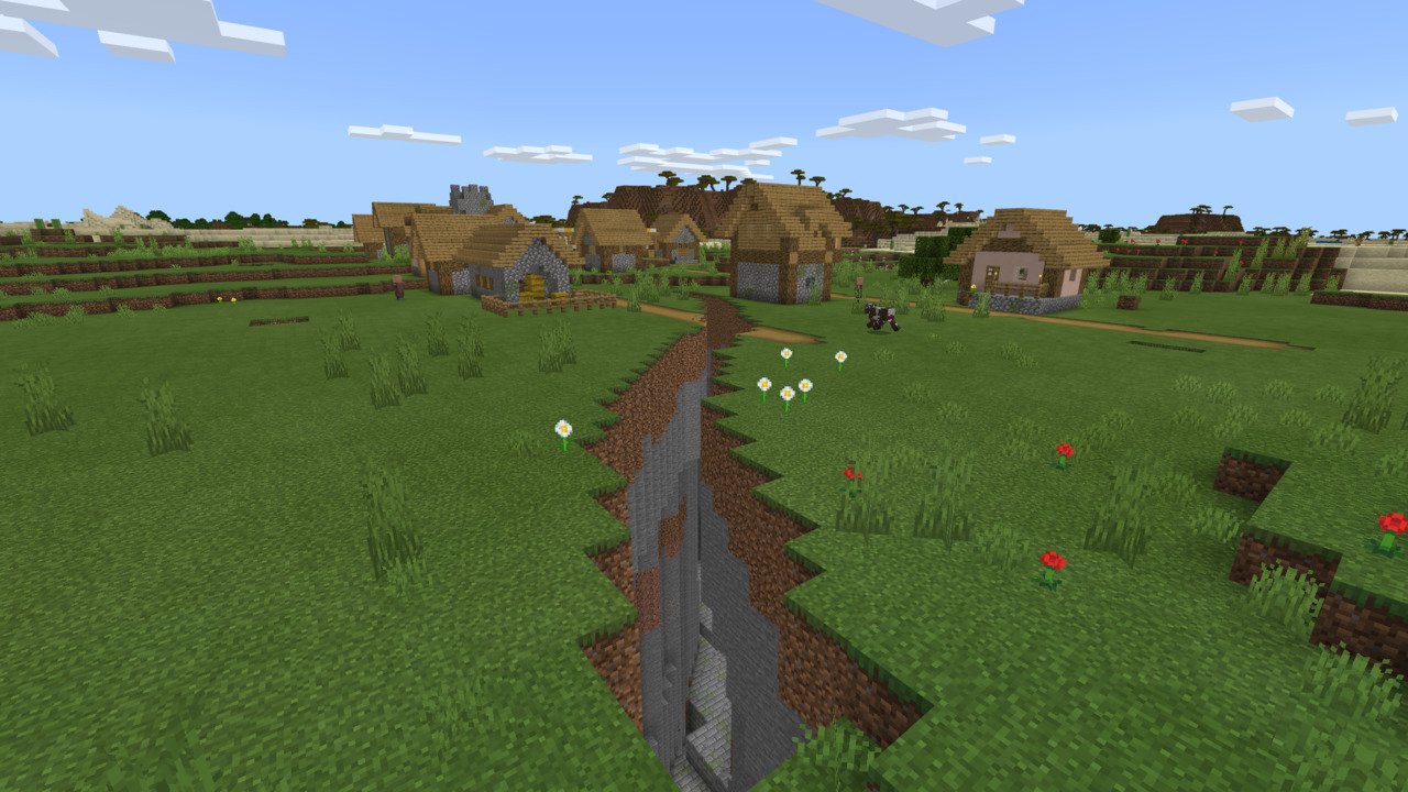 Minecraft-Exposed-Stronghold-Seed