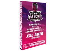 Kit of cannabis seeds Psycho XXL Automix from SensorySeeds Shop