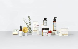 assorted Joy Organics CBD products